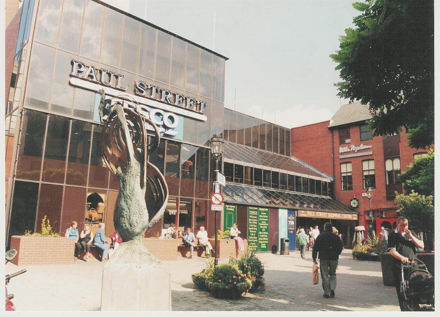 Paul Street Plaza of Paul Street Shopping Centre, Cork present day (picture: Kieran McCarthy)