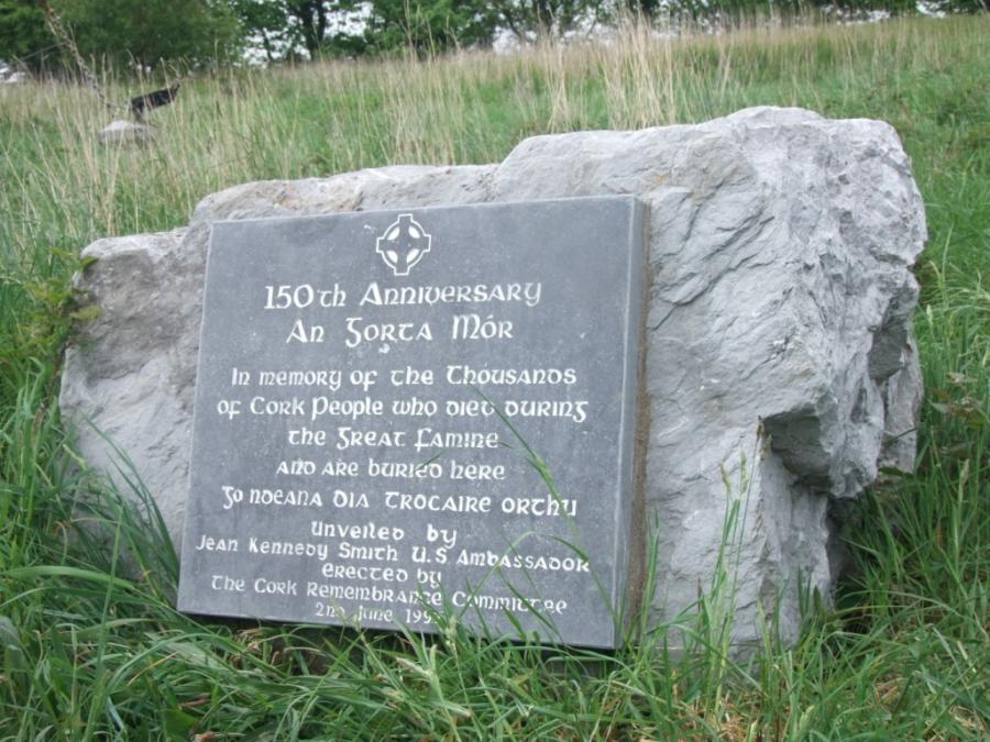 Memorial at Carr's Hill, Cork, present day (picture: Kieran McCarthy)