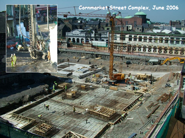 Guy's Building and its surrounding landbank on Cornmarket Street, Cork, June 2006, (picture: Kieran McCarthy)