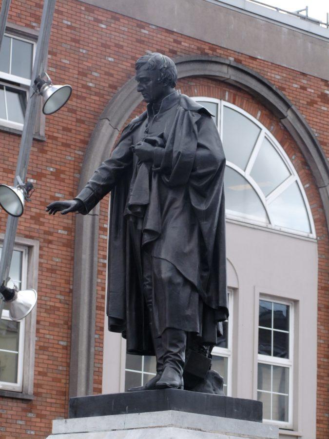 Fr Theobald Mathew Statue, present day (picture: Cllr Kieran McCarthy)