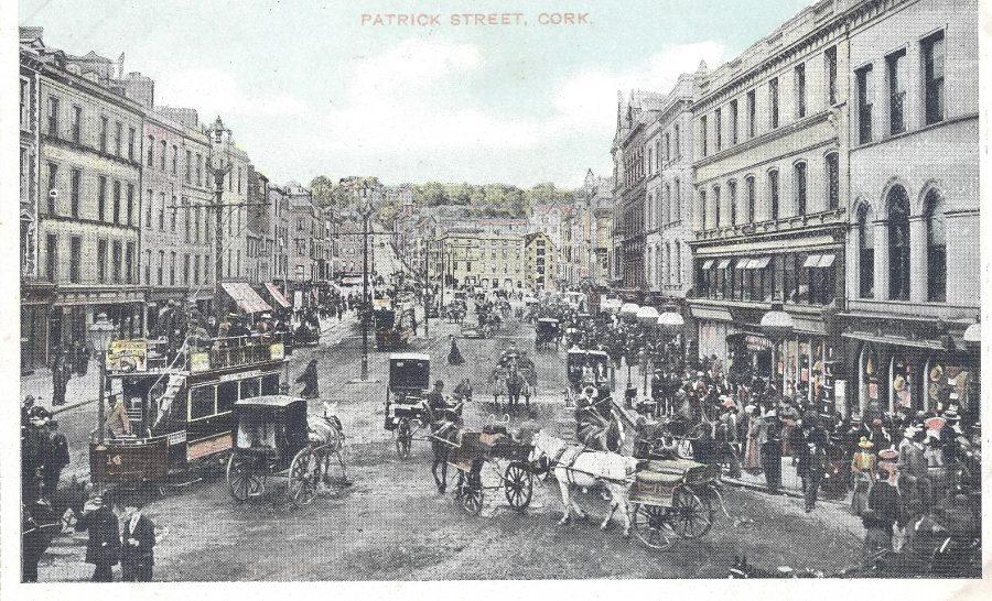 St Patrick's Street, c.1900 from Cork City Through Time by Kieran McCarthy & Dan Breen