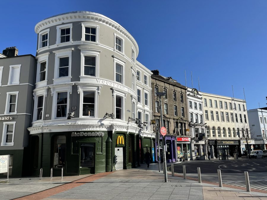 MacDonald's on St Patrick's Street, formerly Woodford Bourne & Co. (picture: Kieran McCarthy)