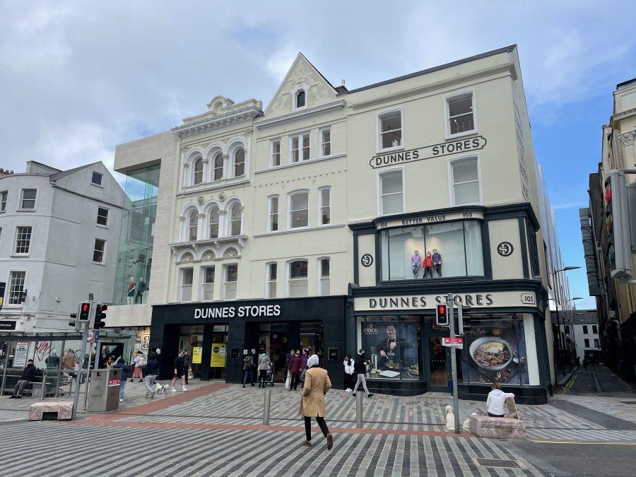 Dunnes Stores, St Patrick's Street, Cork, present day (picture: Kieran McCarthy)