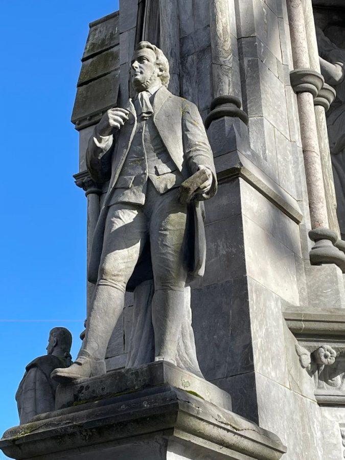 D J Coakley's sculpture of Thomas Davis, National Monument, Grand Parade, Cork (picture: Kieran McCarthy)
