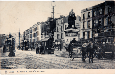 Fireman's Hut, c.1900 from Cork City Through Time by Kieran McCarthy and Dan Breen