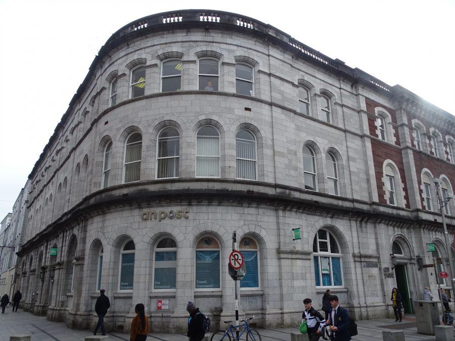 General Post Office, Oliver Plunkett Street, Cork, present day (picture: Kieran McCarthy)
