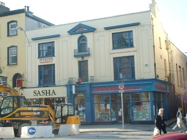 Former Cork Examiner Offices, St Patrick's Street, Cork, September 2003 (picture: Kieran McCarthy)