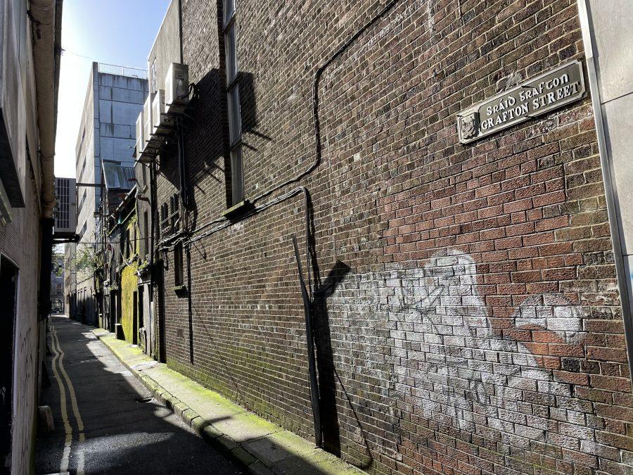 Grafton Street, off Oliver Plunkett Street (picture: Kieran McCarthy)