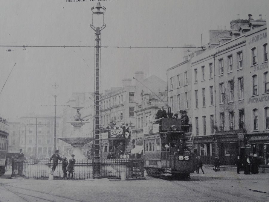 Berwick Fountain, Grand Parade, Cork, c. 1900 (source: Cork City Library)
