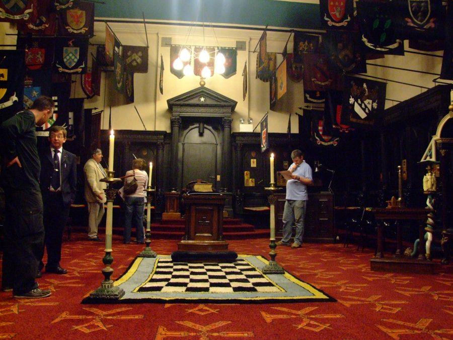 Lodge Room, Cork Masonic Lodge, Tuckey Street, present day (picture: Kieran McCarthy)