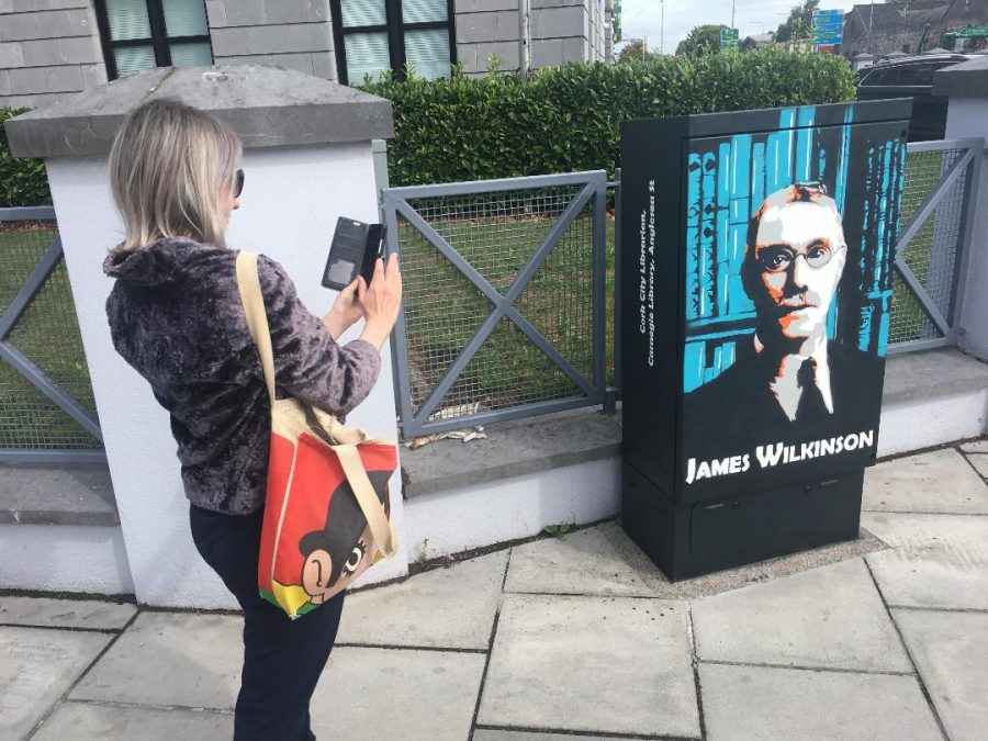 Picture of  James Wilkinson mural on Anglesea Street, Cork, completed by artist Kevin O'Brien and funded by Kieran McCarthy (picture: Kieran McCarthy)