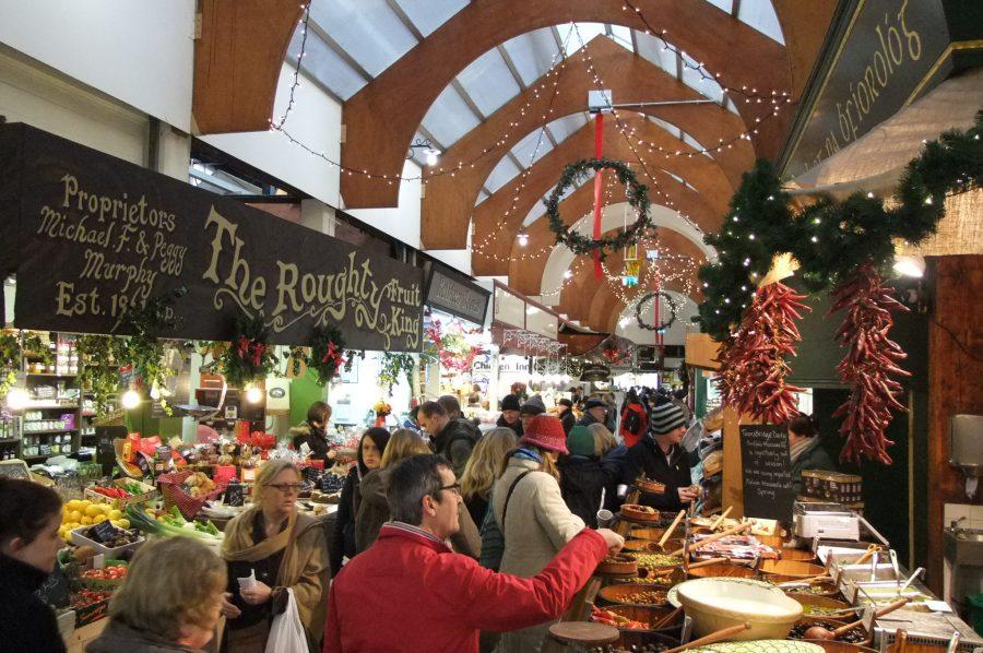 An English Market Christmas 2011, Grand Parade, Cork, (picture: Kieran McCarthy)