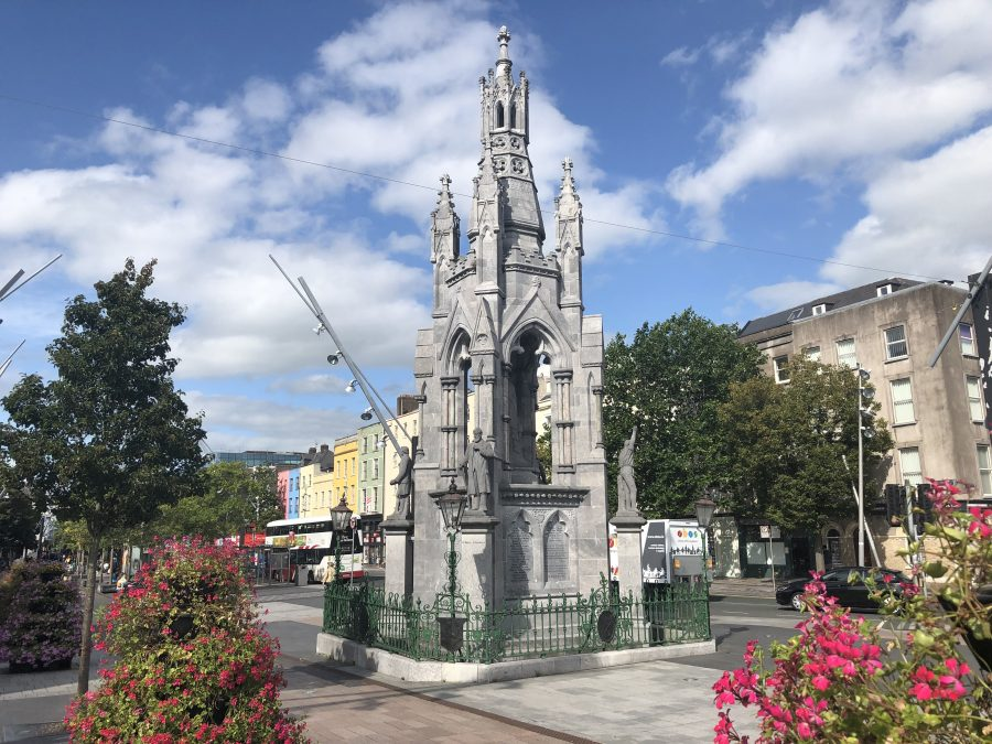 View of National Monument, Grand Parade, Cork, present day (picture: Kieran McCarthy)