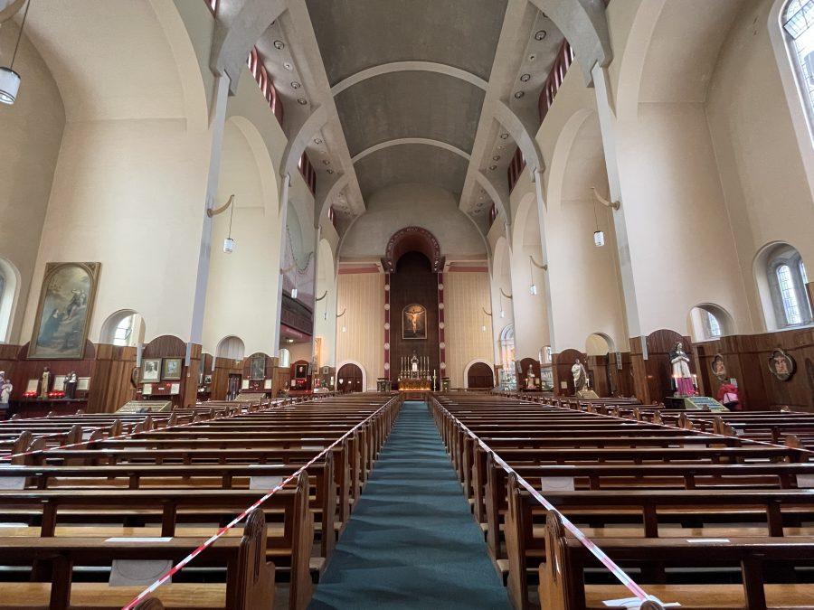 Interior, St Augustine's Church, Cork, present day (picture: Kieran McCarthy)