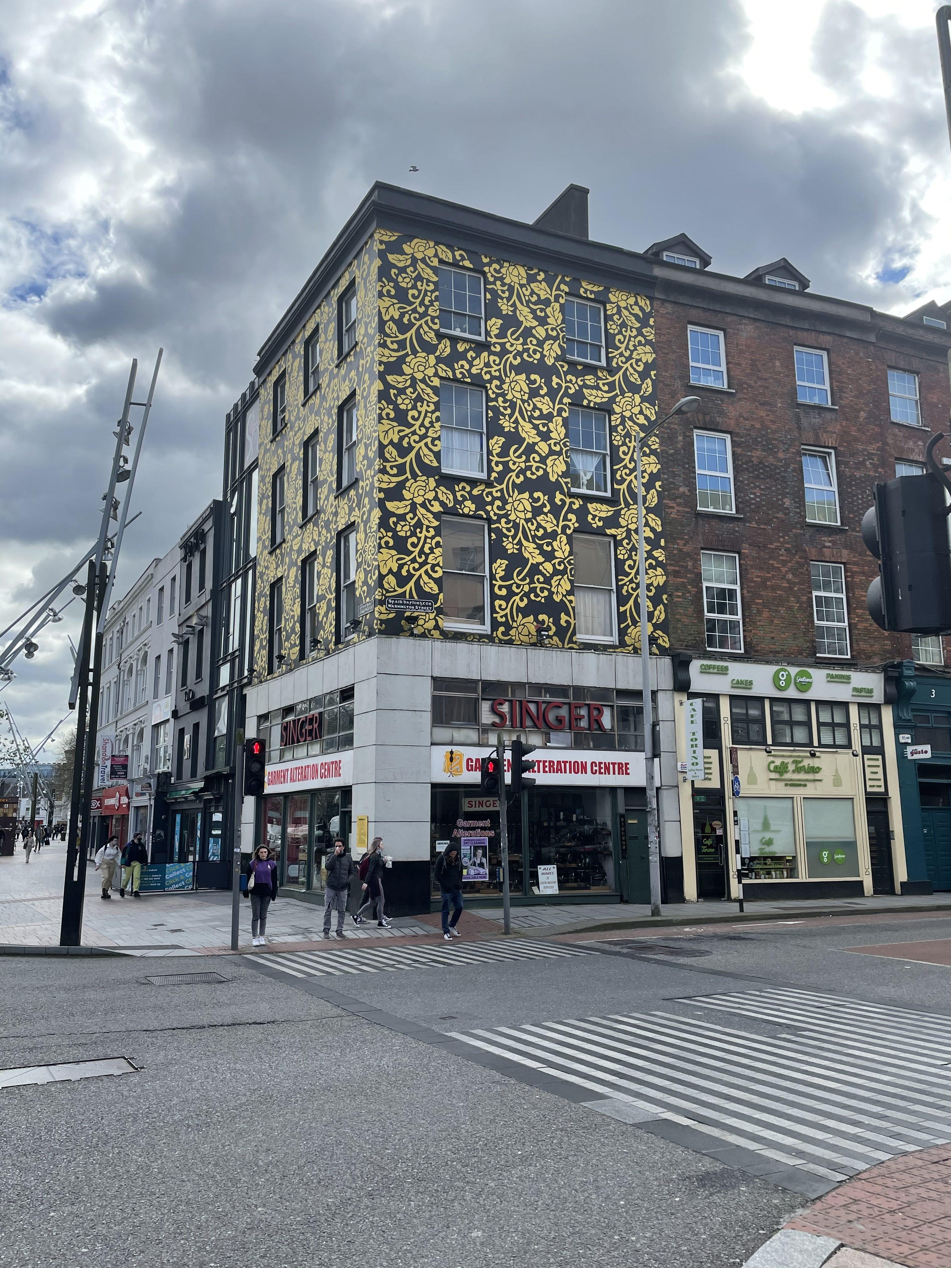 Singer's Corner, Grand Parade, Cork, present day (picture: Kieran McCarthy)