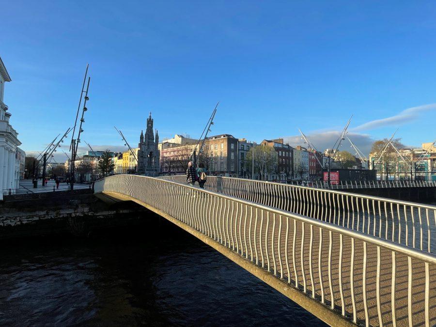 Nano Nagle Bridge, Cork, present day (picture: Kieran McCarthy)