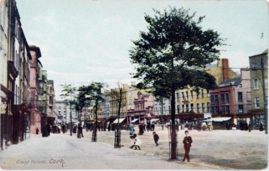 Grand Parade, c.1900 from Kieran McCarthy's and Dan Breen's Cork City Through Time (2012, Amberley Publishing)