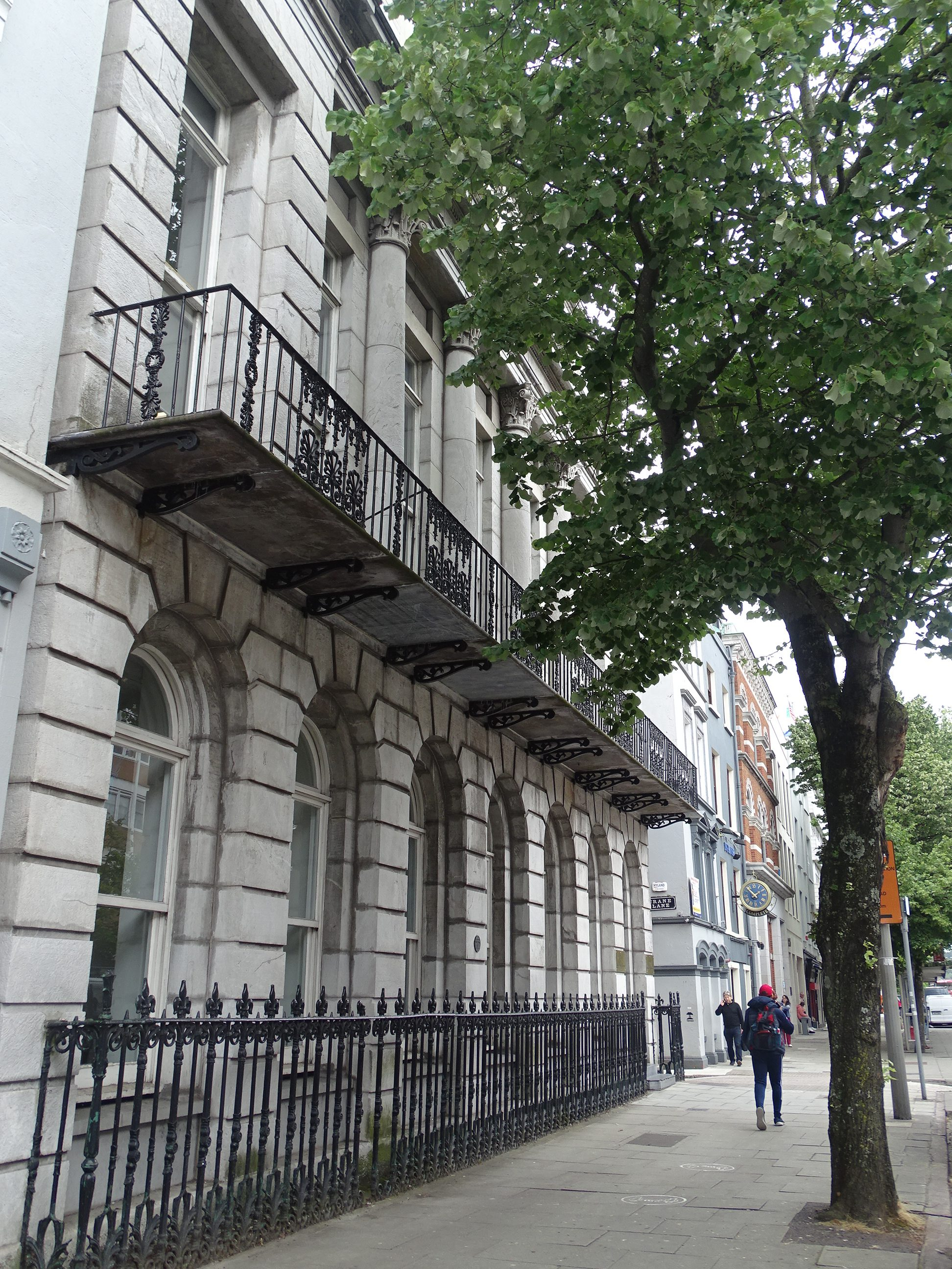Hibernian House, formerly Cork City's Country Club, built 1829, present day (picture: Kieran McCarthy)