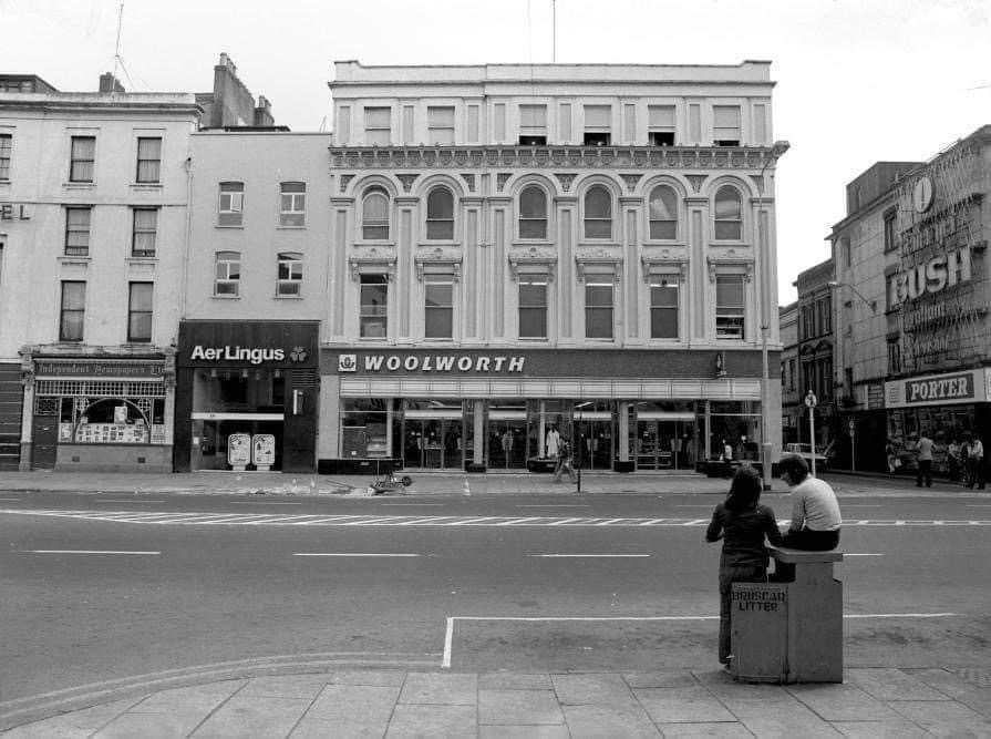 Woolworths, former sites of Newsom's, c.1970 (source: Cork City Library)