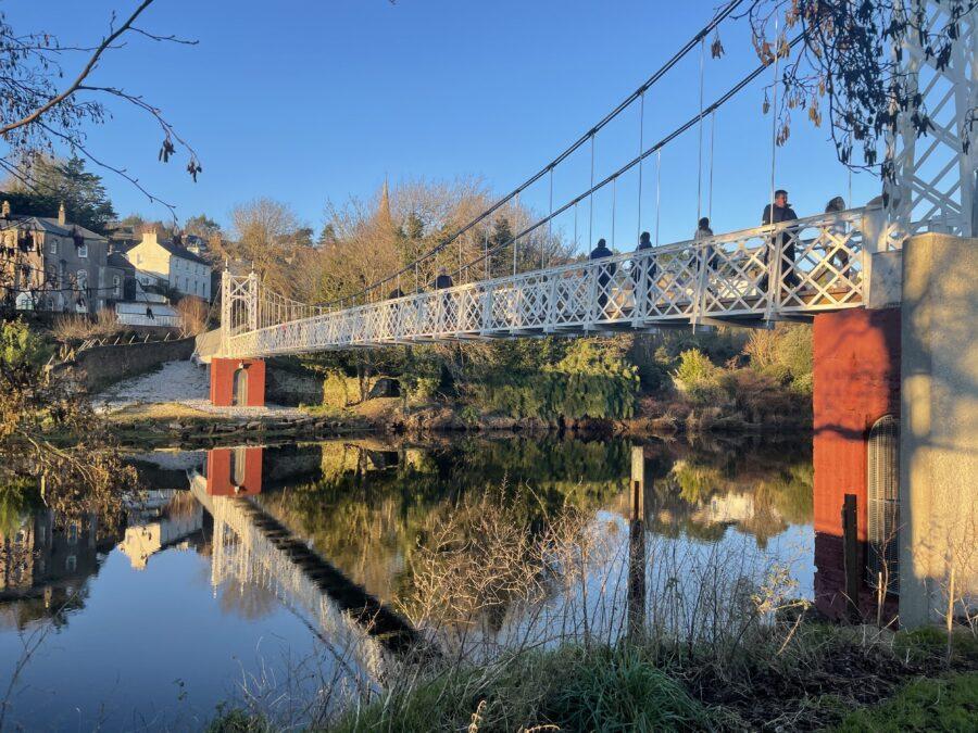 Daly's Bridge, aka Shakey Bridge, Cork, 2021 (picture: Kieran McCarthy)