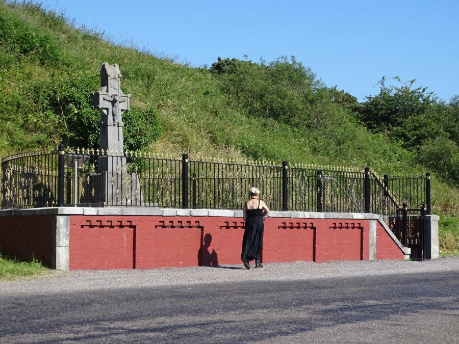 Memorial at Béal na mBláth, Co. Cork, present day (picture: Kieran McCarthy)