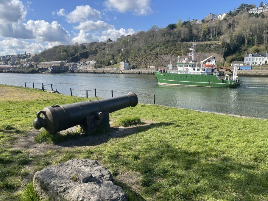Sebastopol Gun, present day, The Marina, Cork, present day (picture: Kieran McCarthy)