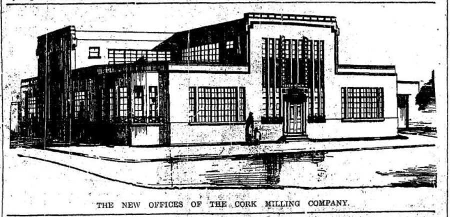 Offices of Cork Milling Company, 1936 (source: Cork Examiner)